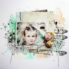Beautiful layout by our Guest Designer Stephanie Papin