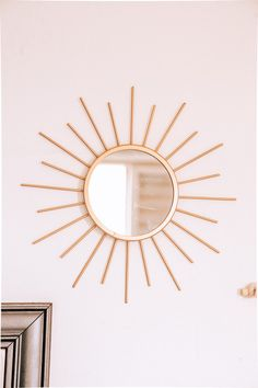 Similar to existent - over the fireplace Sun Mirror