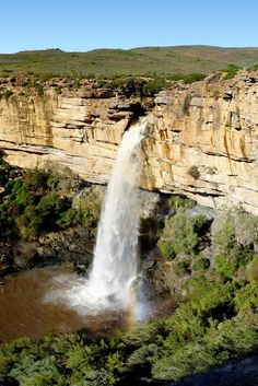 Doorn River Waterfall, South Africa