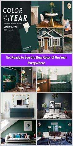 We hope you like the products we recommend. Just so you are aware, Freshome may collect a share of sales from the links on this page. You may not be familiar Green Cabinets, Paint Brands, Latest Colour, Hotel Lobby, Get Ready, Scandinavian Home, Other Rooms, Color Of The Year, White Bathroom