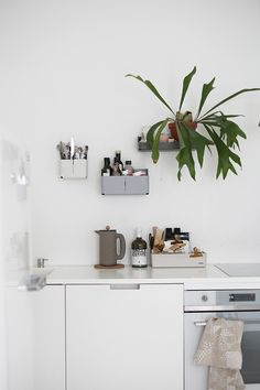 Great kitchen design and decoration tips - Are you re-decorating your kitchen? Make an inviting environment with these simple kitchen redecorating tips. Check the webpage to find out more. Natural Living, Black And White Furniture, Sweet Home, Minimalist Kitchen, Minimalist Art, Beautiful Kitchens, Kitchen Interior, Cafe Interior, Cheap Home Decor