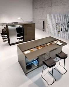 kitchen system design multifunction furniture elements