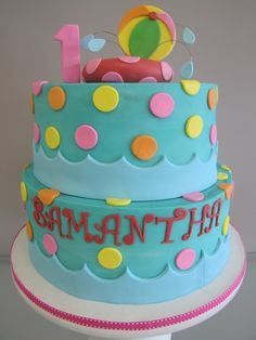 Pool Party Birthday Cake...this is the cake for KENDALL!!!!