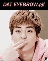 Funny KPop Gifs, Happy Birthday Kim Minseok! March 26, 1990. - exo