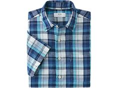 UNIQLO Men Linen Cotton Short Sleeve Shirt