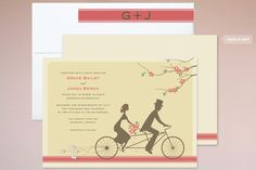 Journey Together Wedding Invitations personalizável $2,34 cada