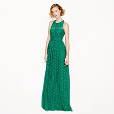 Collection Megan long dress in polka dot - 25% off any order at jcrew.com for 48 hours with code SECRET.