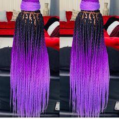 Black braided hairstyles 851250767050183016 - 10 Crochet Box Braids Hairstyles Source by AGirlBeauty Purple Box Braids, Colored Box Braids, Black Girl Braids, Braids For Black Women, Braids For Black Hair, Ombre Box Braids, Box Braids Hairstyles, Box Braids Updo, Twist Braids