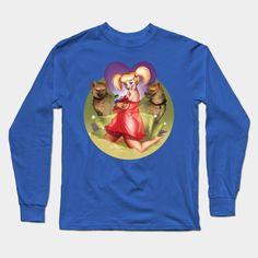 Don'tcha Wanna Rev Up Your Harley? Long Sleeve T-Shirt