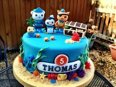 Octonauts Party And Cake Ideas more at Recipins.com