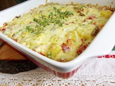 Eastern European Recipes, Romanian Food, Mashed Potatoes, Macaroni And Cheese, Food And Drink, Cooking Recipes, Yummy Food, Chicken, Ethnic Recipes