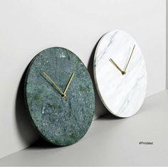 Stunning marble clocks courtesy of Prodeez