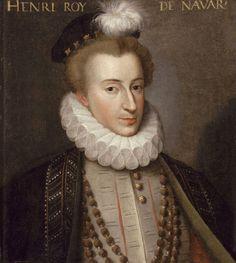 Henri IV, roi de France et de Navarre, à 20 ans environ, vers 1573
