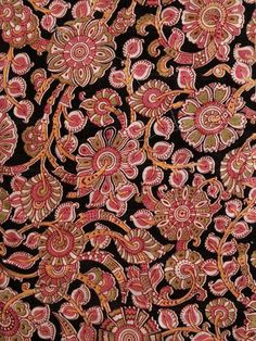 Ethnic weaves in earthy hues Kalamkari Fabric, Kalamkari Designs, Indian Crafts, Earthy, Ethnic, Weaving, Prints, Image, Loom Weaving