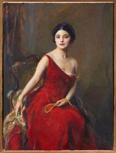 Doña Graziella Patiño de Ortiz Linares 1928, by Phillip de Laszlo,