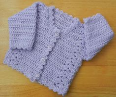 Ravelry: Babies Cardigan No.239 pattern by Kay Jones