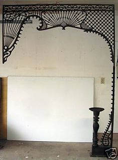 Vintage - 2 piece Victorian Fretwork for Entry - 1880's