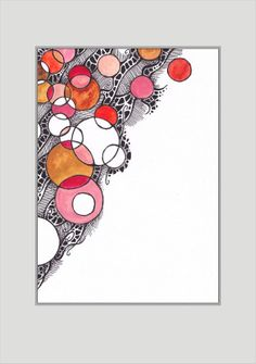 Colorful modern abstract drawing Red and black home decor by siret, $20.00 ---- http://www.pinterest.com/pin/52987733091347371/