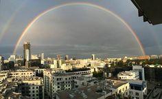 Via: Warsaw Skyline #warsaw #skyline #rainbow #sky https://www.facebook.com/warszawaskyline/photos/a.833139846732525.1073741828.833130953400081/932473650132477/?type=1