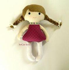 LILI doll, handmade by boGár krea