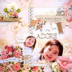 ADORE - Scrapbook.com ....created by Kaori f312 ~~Wendy Schultz onto Digital Art.