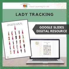 This digitally interactive resource is designed for use with Google Slides. This resource contains 20 slides in total. Answer sheets are included.The student must find all of the ladies that look the same as the example at the top of the page, and drag the orange circles to mark the correct answers.