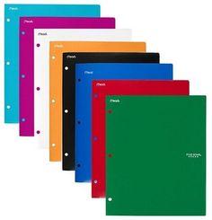 Five Star Plastic Folder School Supply Review.