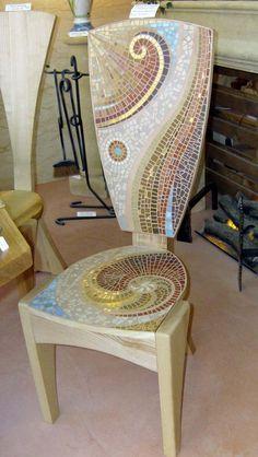 Mosaique Patricia Hourcq - Mosaic chair
