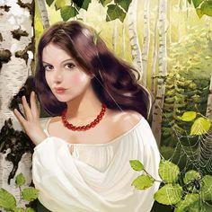 Illustrations By Tatyana Doronina - English Russia Sentimental Art, Illustrators, Photo Art, Creative Portraits, Russian Art, Illustration, Drawing Illustrations, Female Art, Beautiful Art
