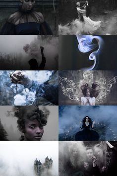 skogsrån | witches that turn into smoke aesthetic picspam
