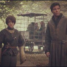 Gendry & Arya Stark (Game Of Thrones)