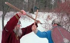 get a new one handed viking fighting axe