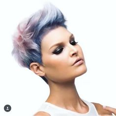 Likes, 55 Comments - Arizona Hairstylist ( on Instag. Likes, 55 Chic Short Hair, Short Hair Cuts, Short Hair Styles, My Hairstyle, Funky Hairstyles, Pixie Haircut, Great Hair, Hair Today, Hair Dos