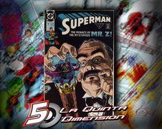 SUPERMAN # 51 Comic de 1991, de Jerry Ordway. $ 50.00 Para más información, contáctanos en http://www.facebook.com/la5aDimension