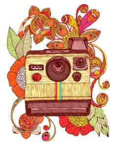 #Polaroid #zentangle #illustration