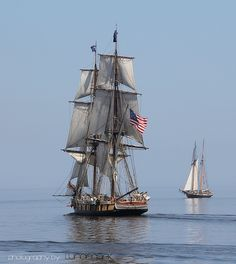 Tall Ships Niagara and Lynx by MyGallery, via Flickr