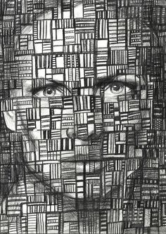 Face Portrait Martha Williams Pencil