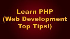 PHP matters. Learn it the right way. :) http://www.webhostingsites.net/2015/08/learn-php-web-development-top-tips.html