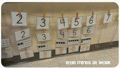 Early Number Sense Number line!