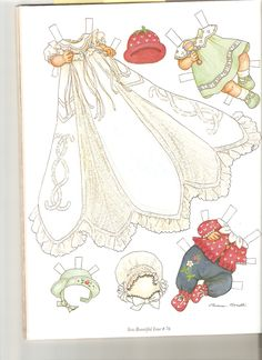 Sew Beautiful paper doll Cecile 2 | Sew Beautiful paper doll… | Flickr - Photo Sharing!