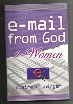 2001 E-mail From God For Women Claire Cloninger Paperback Christian Book