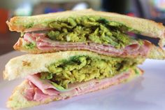 Green Eggs and Ham on Toasted Bread – A Fun Lunch Idea for Kids – Make It With Missy  #stpatricksday