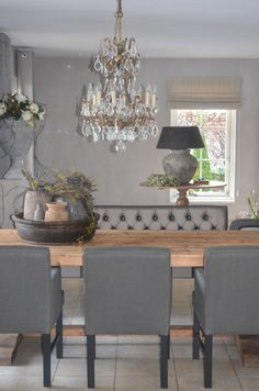 Stoere inrichting: GREY AND GREY.