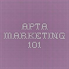 APTA Marketing 101