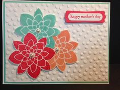 Crazy About You, Mother's Day Card, Teeny Tiny Wishes, Stampin' Up!, Rubber Stamping, Handmade Cards