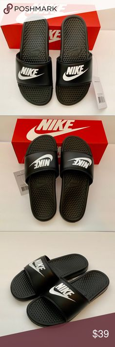 b593d686a94c 🔥🔥🔥NEW Nike Benassi JDI Slippers Slide Sandals NIKE Mens Slippers Slide Sandals  Flip