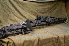 Aliens Full Sized 1/1 Functional SMARTGUN Colonial Marines Stunning CUSTOM MADE pulse rifle. $1,950.00, via Etsy.