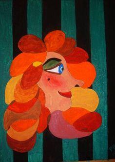 "Saatchi Art Artist Peter Saville-Bradshaw; Painting, ""Candy"" #art"