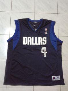 88bf23872c6 Vintage Michael Finley 4 Dallas Mavericks NBA by sixstringent