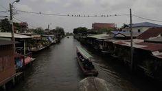 Os Canais de Thonburi, a antiga Bangkok